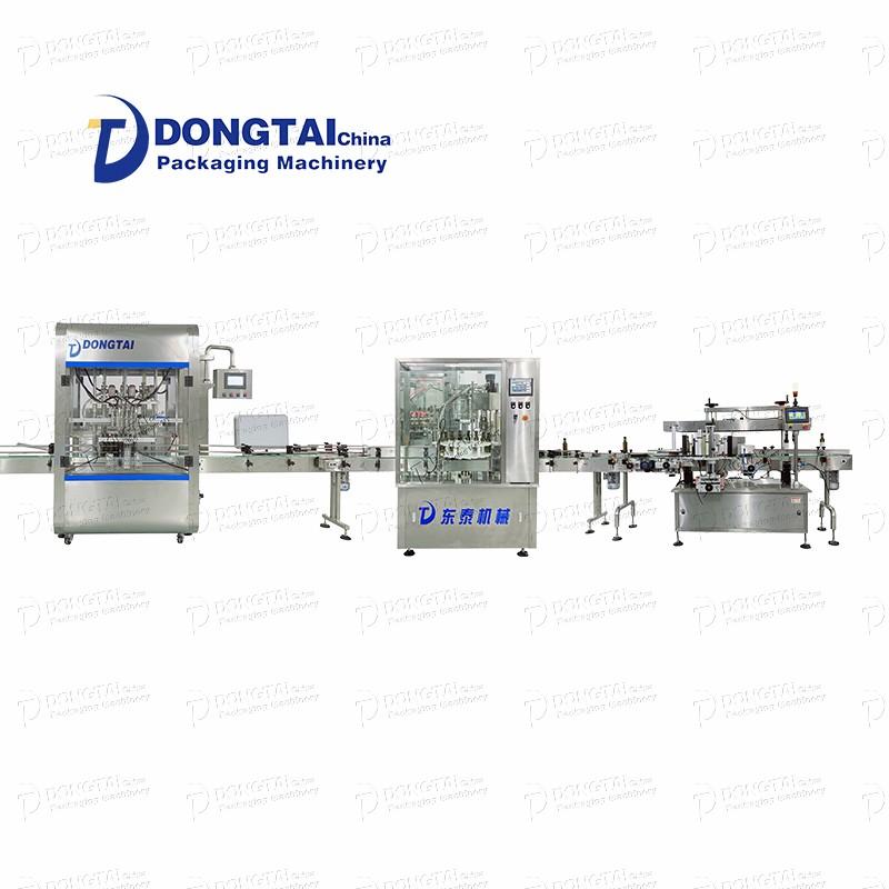 filling machine oil