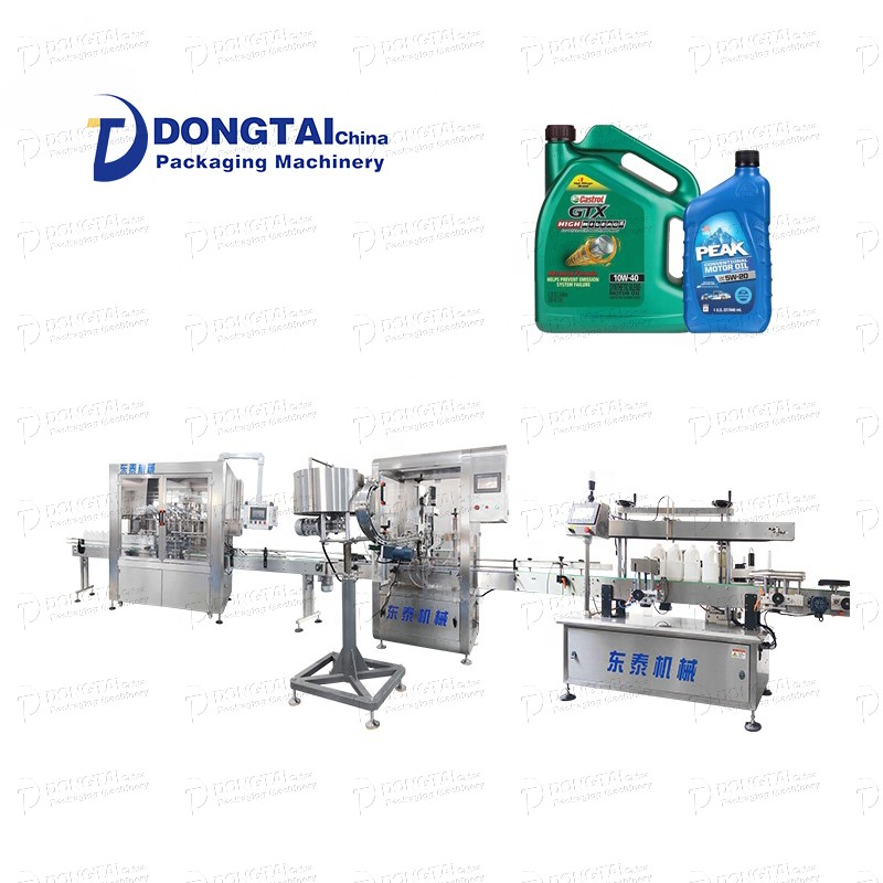 engine oil capping machine
