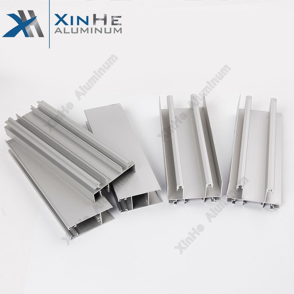 6063 aluminium extruded door frame profile