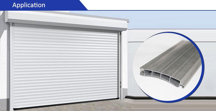 aluminium profile for roller shutters