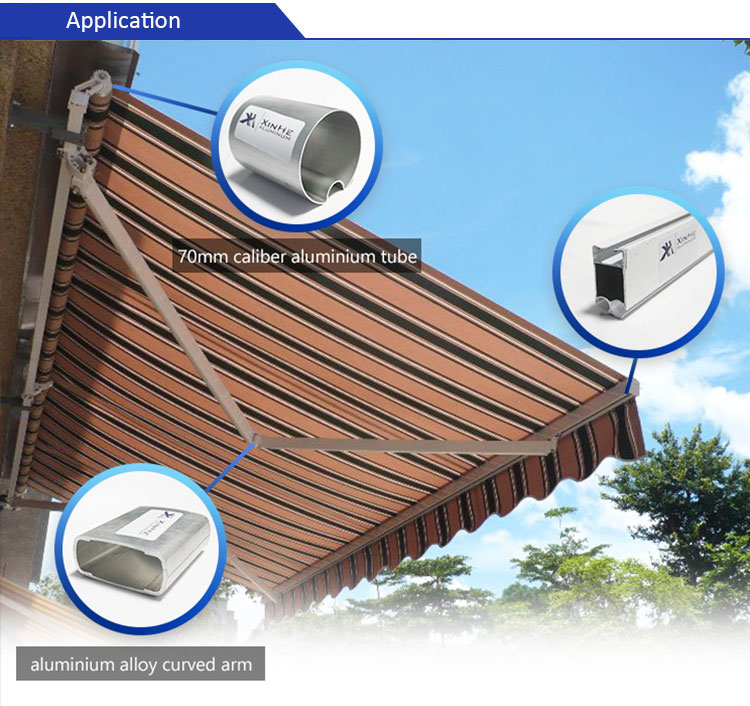 retractable awning aluminum