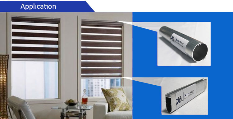 aluminium tube for blinds