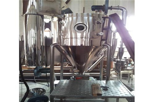Main features of small spray dryer