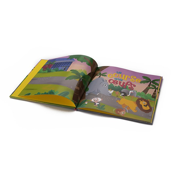 Cheap Sales Hardcover Child Book Printing Service wholesale Customized