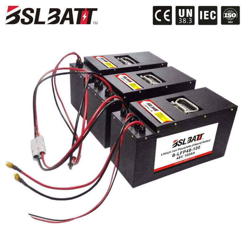 48V 100ah lifepo4 golf car battery