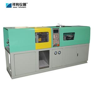 Testing sample injection molding equipments
