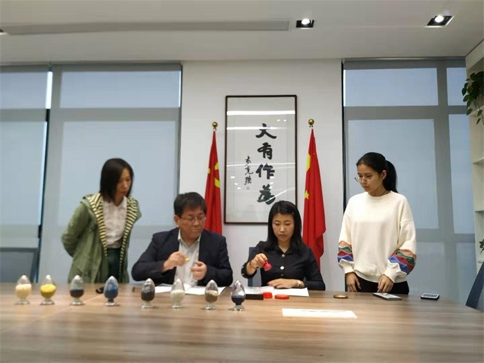 Customer from Japan reach cooperation about MODU film
