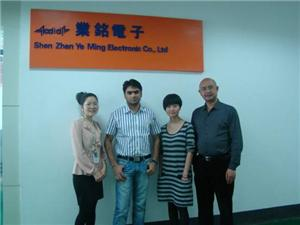 The First Customer For Overseas Business