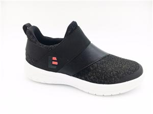 New Arrival Women Casual Shoes Fashion Lightweight Slip-On Breathable Flyknit Shoes for Women