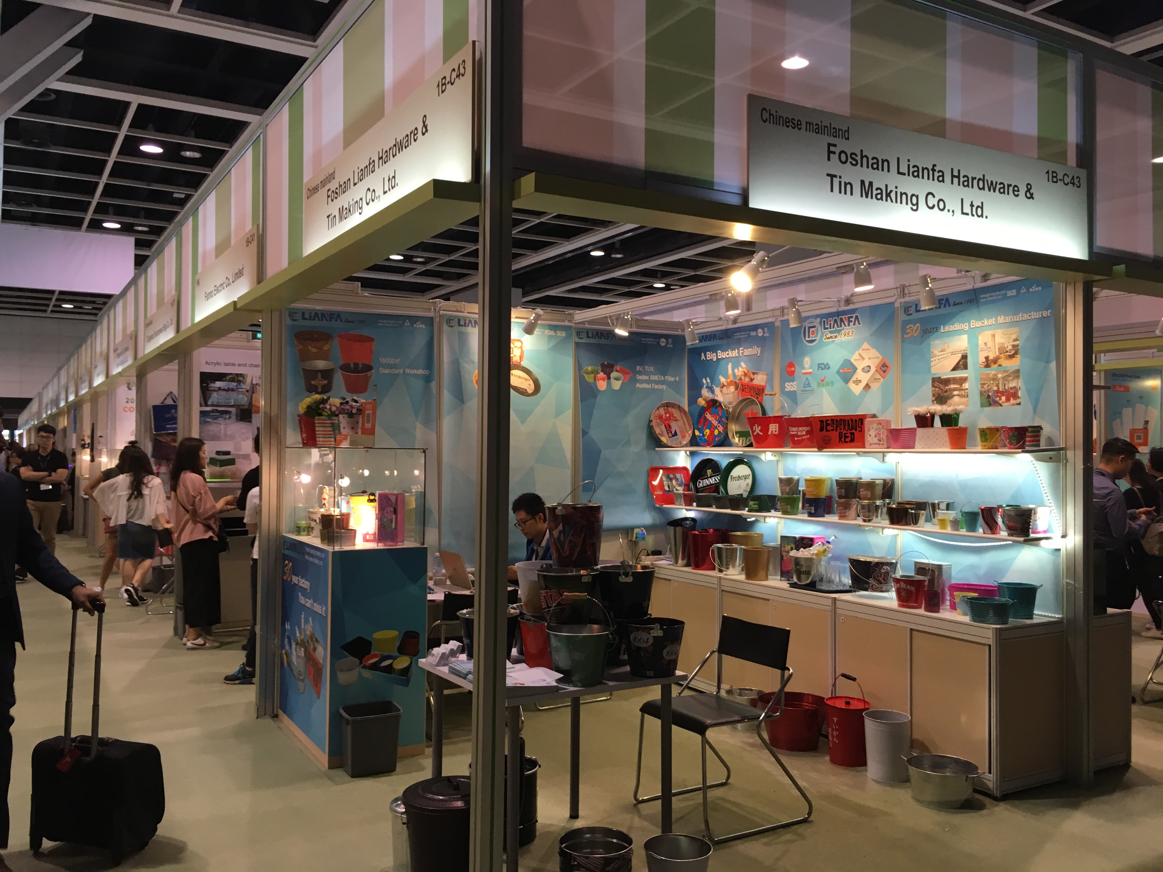 Lianfa participated in the 33rd HKTDC Hong Kong Gifts & Premium Fair