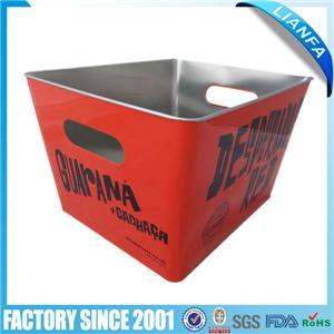 Square beer bucket