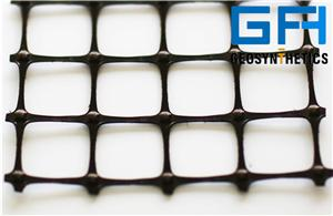 PP Unequivalent Biaxial Plastic Geogrid