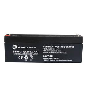 12V 2.5Ah Lead Acid Battery
