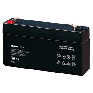 6V 1.3Ah Lead Acid Battery