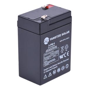 6V 4Ah Rechargeable Lead Acid Battery