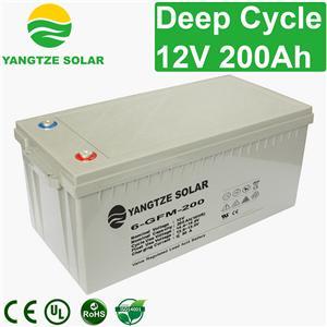 12V 200Ah Deep Cycle Battery Manufacturers, 12V 200Ah Deep Cycle Battery Factory, Supply 12V 200Ah Deep Cycle Battery