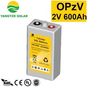 2V600Ah OPzV Battery