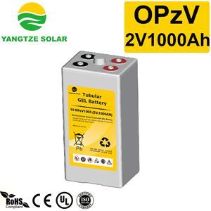 2V1000Ah OPzV Battery