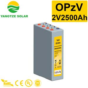 2V2500Ah OPzV Battery