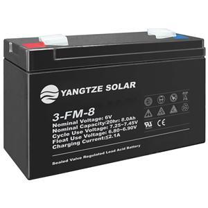 6V 8Ah Battery