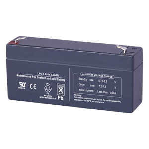 6V 3.2Ah Rechargeable Lead Acid Battery