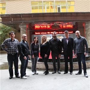 USA customers visit to Pengyifa Company