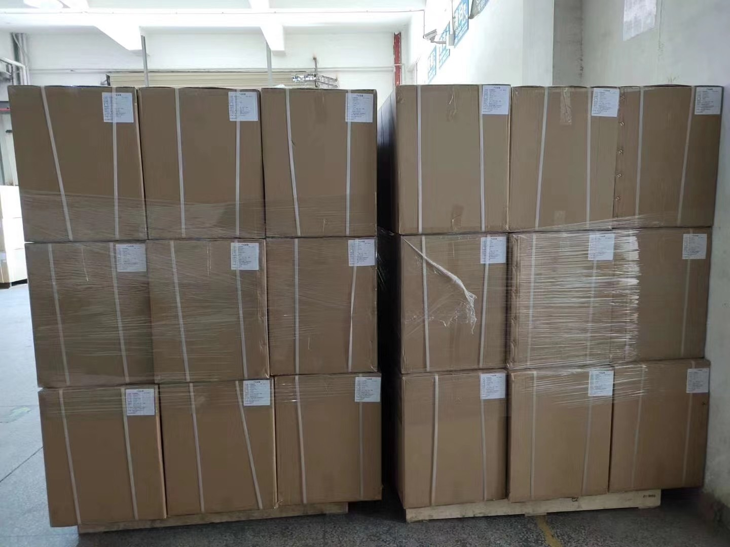 Packed Goods With Pallet Ready To Ship