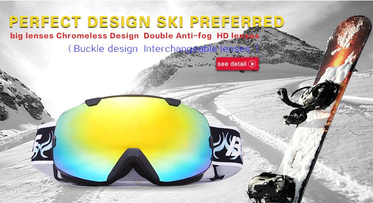 magnetic ski goggles