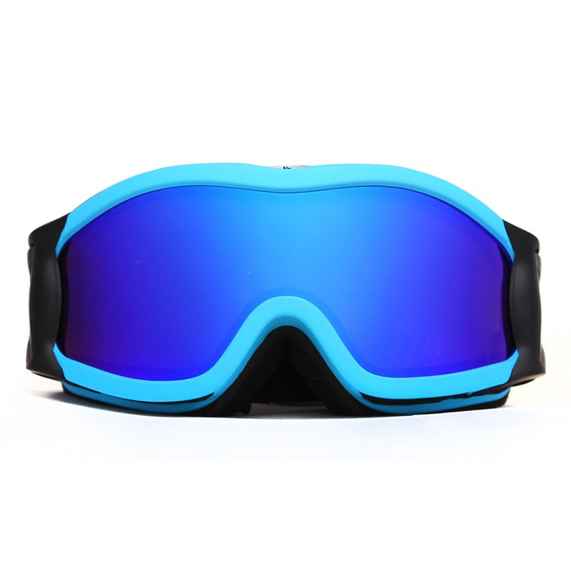 Big frame waterproof HD vision bright color ski goggles SNOW-2500