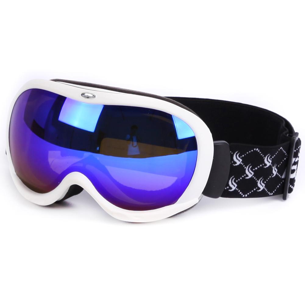 Color custom ski glasses