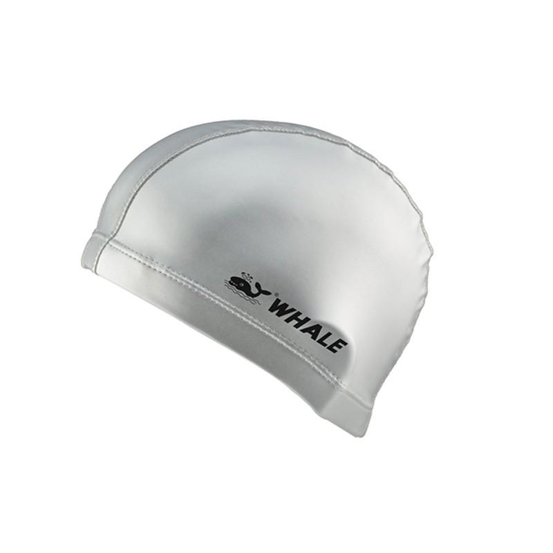 Waterproof breathable lycra PU coating cover swim cap CAP-1300