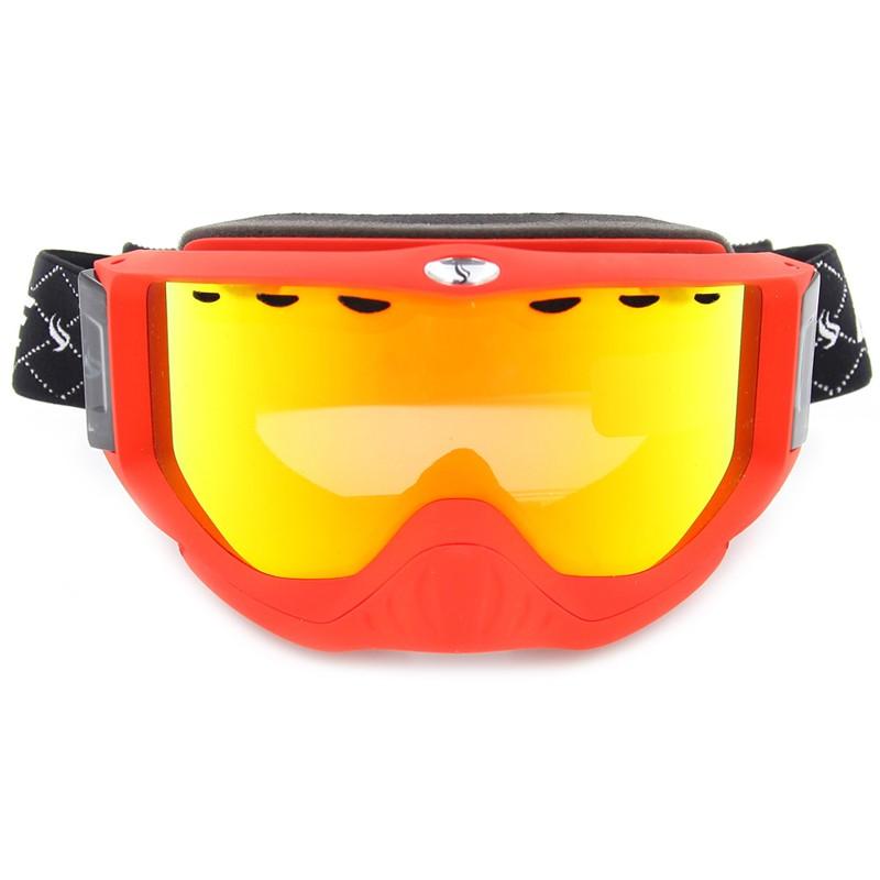 Free Ski sports professional manufacturers flexible strap comfort fit ski googles SNOW-1700