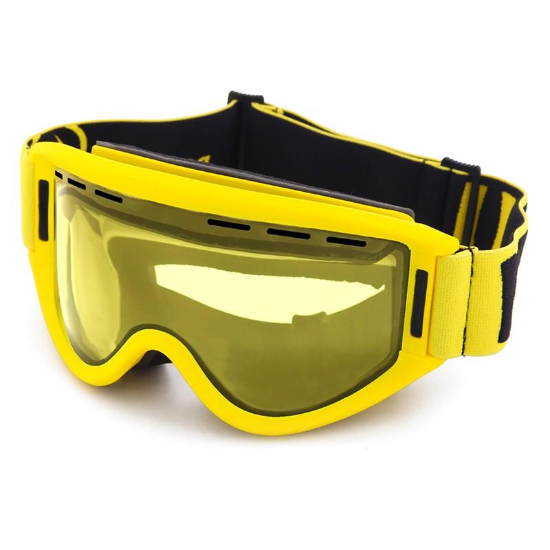 Cylinder toric revo lens custom logo breathing foam racing ski goggles SNOW-333