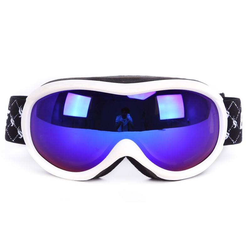 Best sale great stretch strap enhanced comfort nose foam ski goggles SNOW-1900