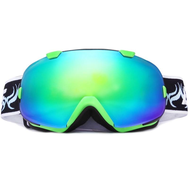 Adult ski goggles customized air circulation snowboard glasses SNOW-2800