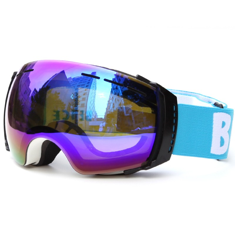 Fashion frameless Polarized wide vision Snowboarding Ski Goggles SNOW-3500