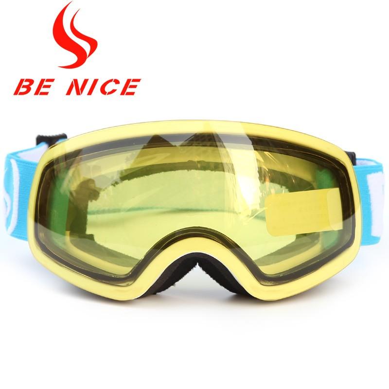 Junior detachable strap frameless snow sports glassesSNOW-4700