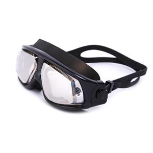 Big frame clear lens colorful coating swimming mask OPT-6100