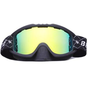 Full UV protetionremovable nose guard wide view ski glasses SNOW-3000