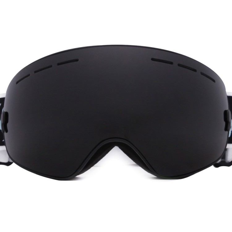 Dual-Layer lens hightened nose foam air vents ski goggles SNOW-3100