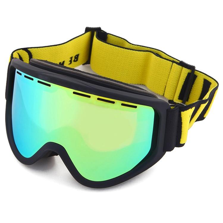 BE NICE PC Double Lens 100% transparent Snow Goggle SNOW-5555