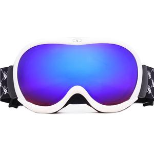 Color custom impact resistant durable frame spherical lens snow goggles SNOW-400