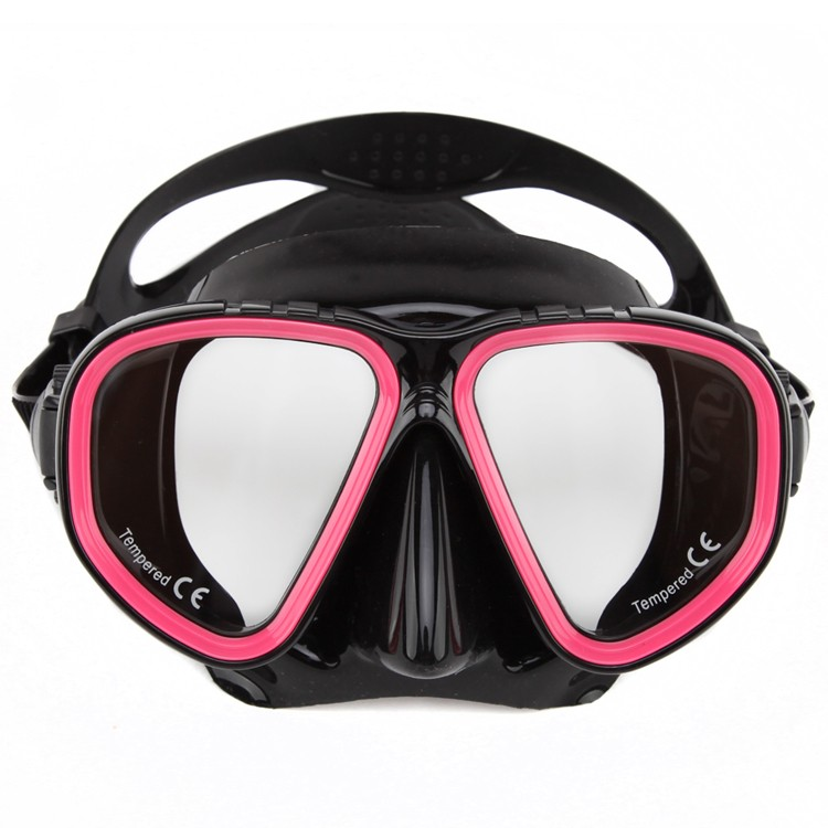 Silicone wrap single-side lens double-sided lens optional diving glasses MK-300