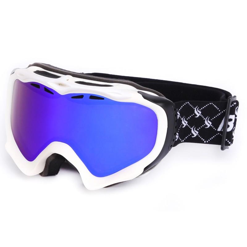 Hot sale prevent fogging adult fashionable Full View Logo Custom Ski Goggles SNOW-1800