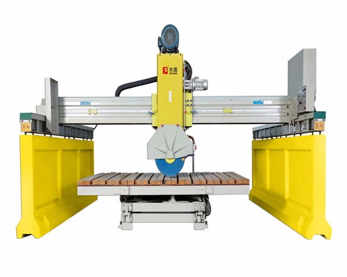 Infrared Automatic Bridge Stone Machine For Cutting Marble And Granite