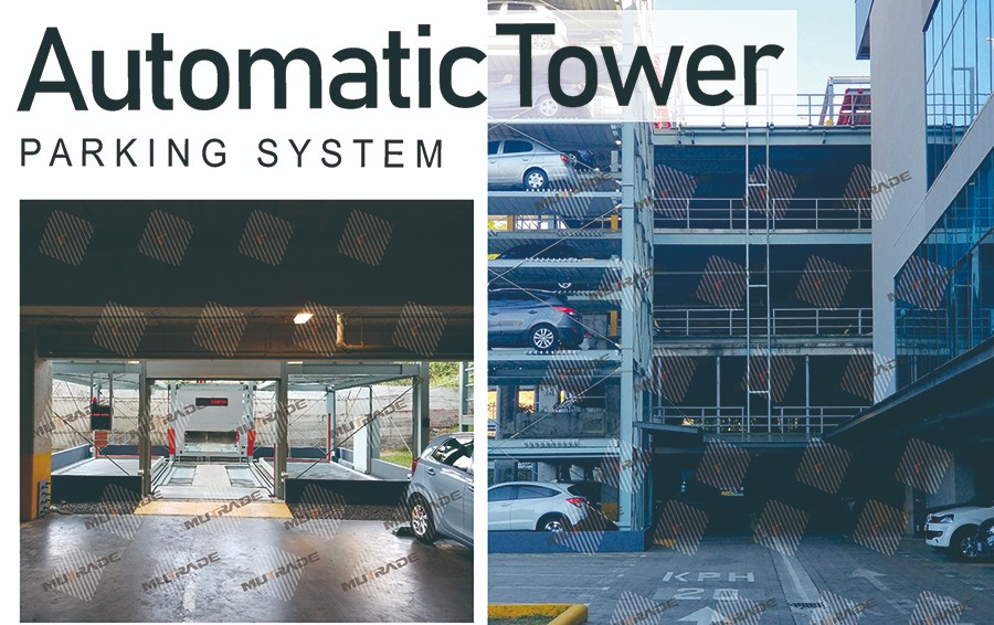 Mutrade Automatic Tower Car Parking System installed in Costa Rica