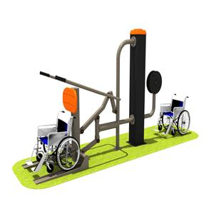 Multi gym outdoor fitness equipment for the disabled