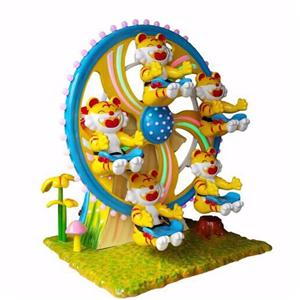 Attractive funfair rides mini Ferris wheel for amusement park