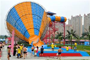 The super trumpet water slide