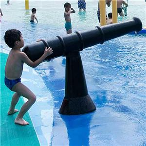 Water gun spray for amusement water park